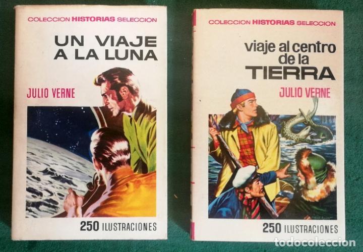 Tebeos: HISTORIAS SELECCIÓN - LOTE SERIE JULIO VERNE (5 TOMOS) - MUY BUEN ESTADO - Foto 3 - 184145555