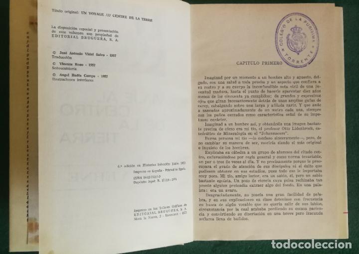 Tebeos: HISTORIAS SELECCIÓN - LOTE SERIE JULIO VERNE (5 TOMOS) - MUY BUEN ESTADO - Foto 6 - 184145555