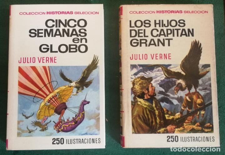 Tebeos: HISTORIAS SELECCIÓN - LOTE SERIE JULIO VERNE (5 TOMOS) - MUY BUEN ESTADO - Foto 7 - 184145555