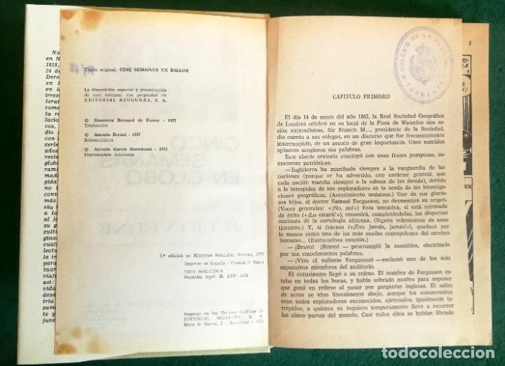 Tebeos: HISTORIAS SELECCIÓN - LOTE SERIE JULIO VERNE (5 TOMOS) - MUY BUEN ESTADO - Foto 9 - 184145555