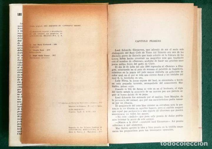 Tebeos: HISTORIAS SELECCIÓN - LOTE SERIE JULIO VERNE (5 TOMOS) - MUY BUEN ESTADO - Foto 10 - 184145555