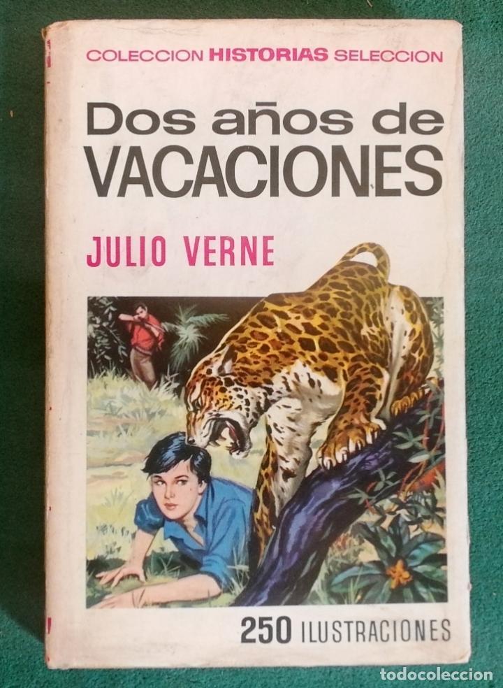 Tebeos: HISTORIAS SELECCIÓN - LOTE SERIE JULIO VERNE (5 TOMOS) - MUY BUEN ESTADO - Foto 11 - 184145555