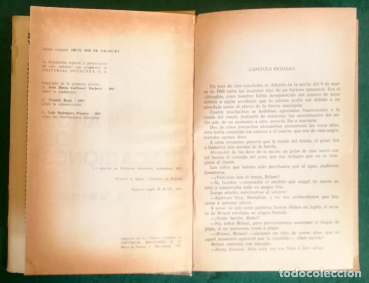 Tebeos: HISTORIAS SELECCIÓN - LOTE SERIE JULIO VERNE (5 TOMOS) - MUY BUEN ESTADO - Foto 13 - 184145555