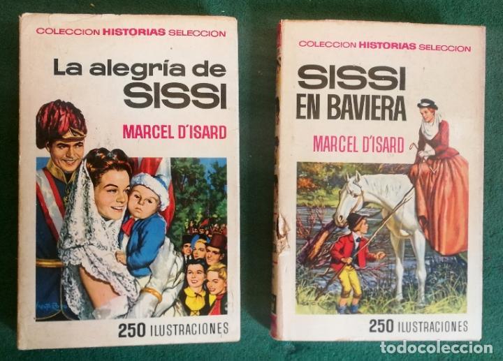 Tebeos: HISTORIAS SELECCIÓN - LOTE SERIE SISSI (3 TOMOS) - BUEN ESTADO - Foto 3 - 184146246