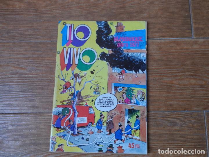 TIO VIVO ALMANAQUE 1977 EDITORIAL BRUGUERA (Tebeos y Comics - Bruguera - Tio Vivo)