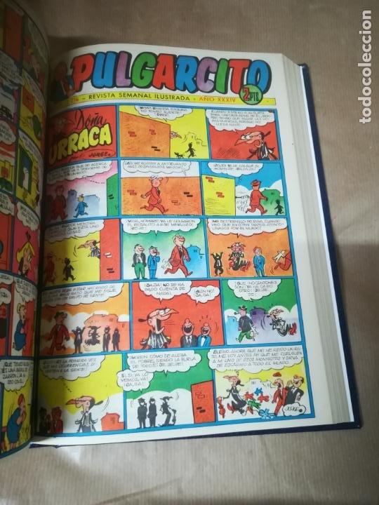 Tebeos: TEBEO. PULGARCITO. 42 NUMEROS ENCUADERNADOS. PERFECTO ESTADO. DIFERENTES. LEER DESCRIPCION. VER - Foto 14 - 184341016