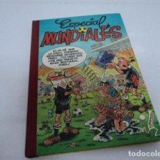 Livros de Banda Desenhada: ESPECIAL SUPER HUMOR TEBEO MORTADELO FILEMON MUNDIALES FUTBOL IBAÑEZ SUPERHUMOR EDICION LUJO. Lote 184376711