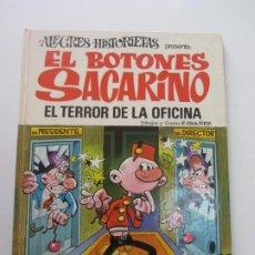 Tebeos: ALEGRES HISTORIETAS Nº 12 - EL BOTONES SACARINO - EL TERROR DE LA OFICINA - BRUGUERA 1ª ED 1971 CX30. Lote 184377283