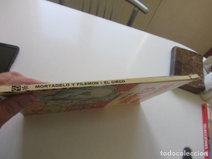 Tebeos: ASES DEL HUMOR. Nº 27. MORTADELO Y FILEMÓN. EL CIRCO. BRUGUERA 1973 cx30 - Foto 2 - 184377722
