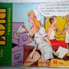 Giornalini: LOLA-LA MÁS SEXY HEROÍNA DEL CÓMIC ESPAÑOL- Nº 28 -ÚLTIMO COLECCIÓN-1976-DIFÍCIL-BUENO-LEAN-3995. Lote 213357841