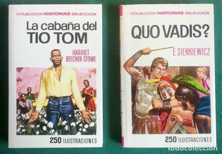Tebeos: HISTORIAS SELECCIÓN - SERIE CLÁSICOS JUVENILES COMPLETA (34) - MOBY DICK DON QUIJOTE GUILLERMO TELL - Foto 7 - 183779373