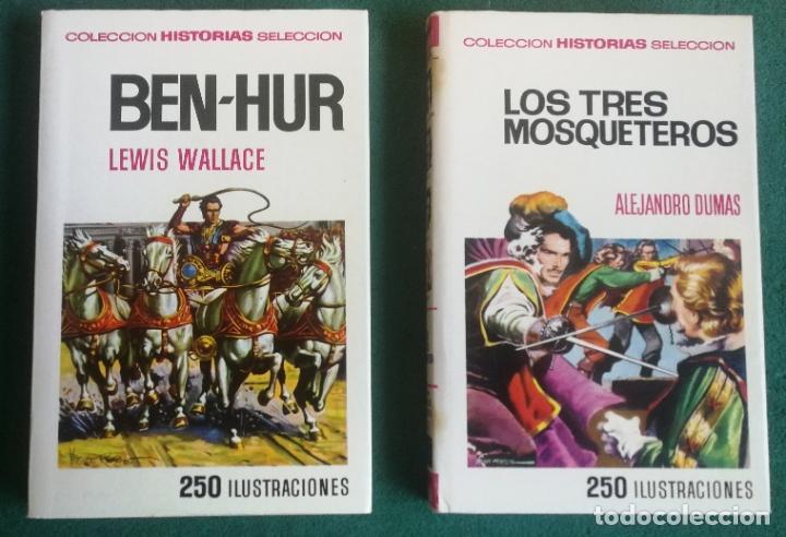 Tebeos: HISTORIAS SELECCIÓN - SERIE CLÁSICOS JUVENILES COMPLETA (34) - MOBY DICK DON QUIJOTE GUILLERMO TELL - Foto 8 - 183779373