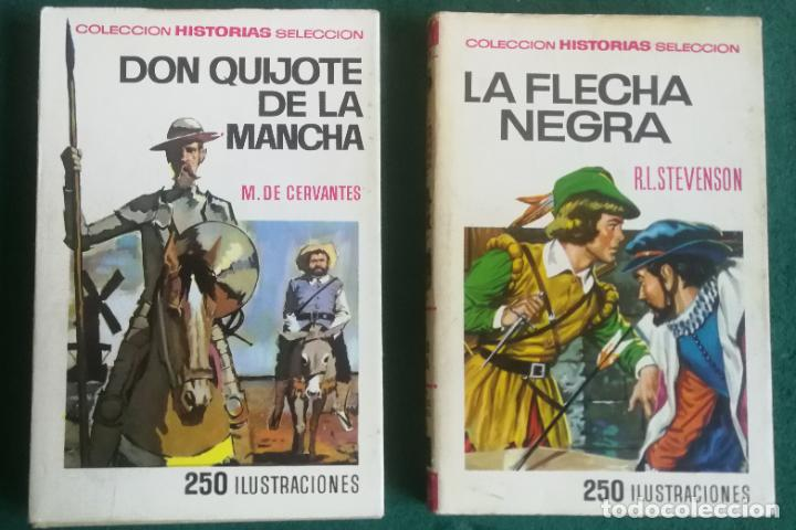 Tebeos: HISTORIAS SELECCIÓN - SERIE CLÁSICOS JUVENILES COMPLETA (34) - MOBY DICK DON QUIJOTE GUILLERMO TELL - Foto 12 - 183779373