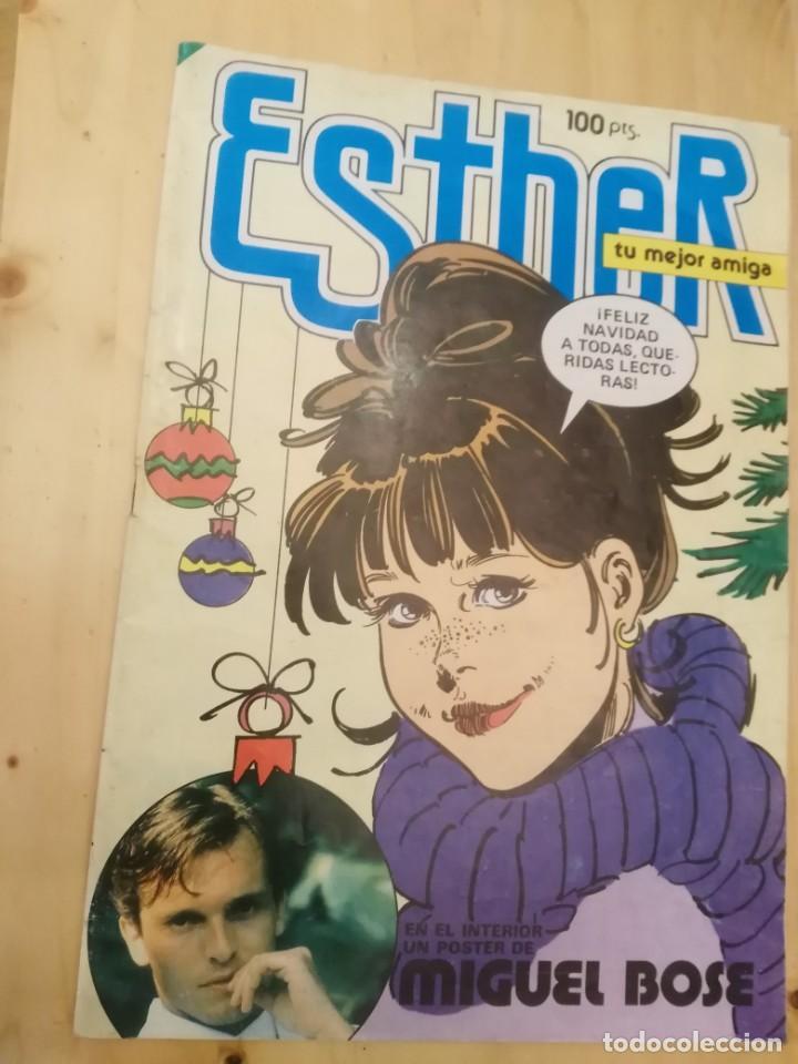EN VENTA DIRECTA ESTHER. NUMERO 99. (CONTIENE POSTER CENTRAL DE MIGUEL BOSE) BRUGUERA (Tebeos y Comics - Bruguera - Esther)