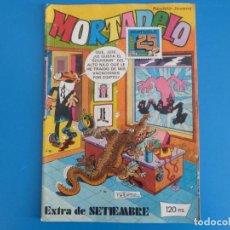 Tebeos: COMIC DE MORTADELO AÑO 1983 Nº EXTRA DE SEPTIEMBRE DE BRUGUERA LOTE 16. Lote 184519110