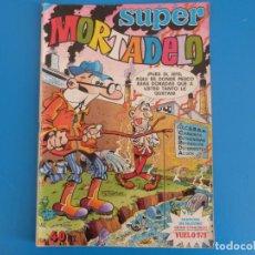 Tebeos: COMIC DE SUPER MORTADELO AÑO 1979 Nº EXTRA DE BRUGUERA LOTE 16. Lote 184527511