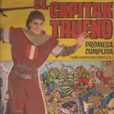 Tebeos: EL CAPITAN TRUENO - PROMESA CUMPLIDA - ALBUM GIGANTE Nº 1 - 1964. Lote 184550975