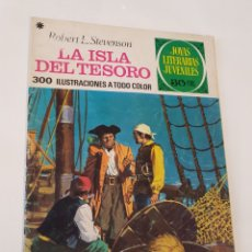 Tebeos: JOYAS LITERARIAS JUVENILES NÚMERO 2 , LA ISLA DEL TESORO , EDITORIAL BRUGUERA. Lote 184551267
