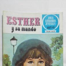 Livros de Banda Desenhada: ESTHER Y SU MUNDO, Nº 1, JOYAS LITERARIAS JUVENILES, SERIE AZUL . Lote 184606780