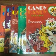 Tebeos: CANDY CANDY CORAZON-GRAN EXITO TV-5 EJEMPLARES-1ª EDICION-EDITOTIAL BRUGUERA-AÑO 1984-85.. Lote 184633626