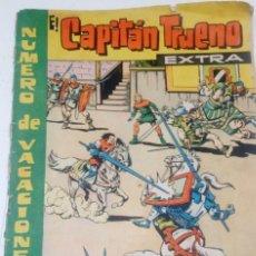 Tebeos: EL CAPITAN TRUENO EXTRA - NUMERO DE VACACIONES 1962 - CONTRA KRUGER EL NEGRO - BRUGUERA - ORIGINAL. Lote 184734438