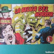 Tebeos: INSPECTOR DAN (1951, BRUGUERA) 67 · 1954 · LA SELVA DEL HORROR. Lote 184863002