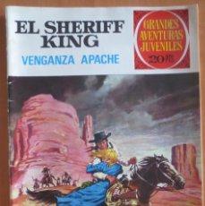 Tebeos: EL SHERIFF KING VENGANZA APACHE Nº 12. Lote 184870653