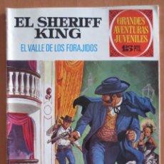 Tebeos: EL SHERIFF KING EL VALLE DE LOS FORAJIDOS Nº 39. Lote 184872123