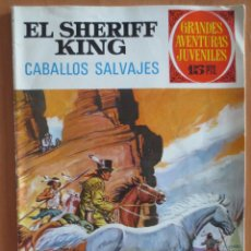 Tebeos: EL SHERIFF KING CABALLOS SALVAJES Nº 32. Lote 184872421