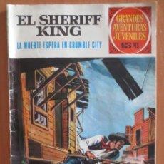 Tebeos: EL SHERIFF KING LA MUERTE ESPERA EN CRUMBLE CITY Nº 16. Lote 184872943