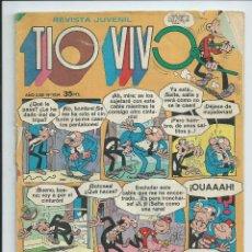 Tebeos: TIO VIVO (2ª EPOCA) , Nº 1024 (OCTUBRE 1980). ED. BRUGUERA. REGULAR ESTADO. Lote 184877207