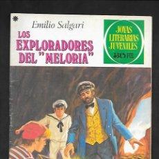 Tebeos: JOYAS LITERARIAS JUVENILES NUMERO 190 LOS EXPLORADORES DEL MELORIA. Lote 184893950