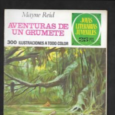 Tebeos: JOYAS LITERARIAS JUVENILES NUMERO 157 AVENTURAS DE UN GRUMETE. Lote 185421765