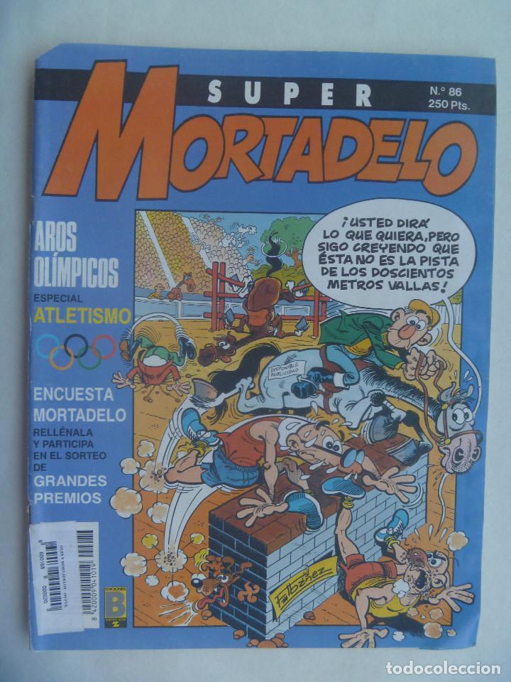 SUPER MORTADELO, Nº 86. 1991 (Tebeos y Comics - Bruguera - Mortadelo)