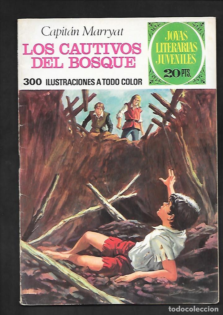 JOYAS LITERARIAS JUVENILES NUMERO 132 LOS CAUTIVOS DEL BOSQUE (Tebeos y Comics - Bruguera - Joyas Literarias)