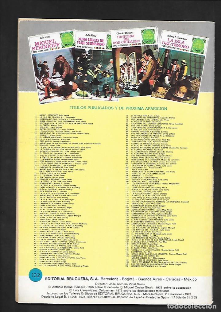 Tebeos: JOYAS LITERARIAS JUVENILES NUMERO 132 LOS CAUTIVOS DEL BOSQUE - Foto 2 - 185699892