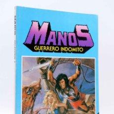 Tebeos: MANOS GUERRERO INDÓMITO SELECCIÓN 4. RETAPADO 19-23 (CORREA) BRUGUERA, 1985. COMICS BRUGUERA. OFRT. Lote 185715751