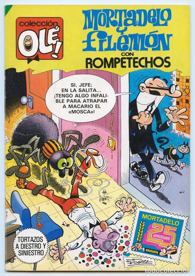 COLECCIÓN OLÉ! - MORTADELO Y FILEMÓN - ED. BRUGUERA - Nº 274 - 1ª EDICIÓN - 1983 (Tebeos y Comics - Bruguera - Ole)