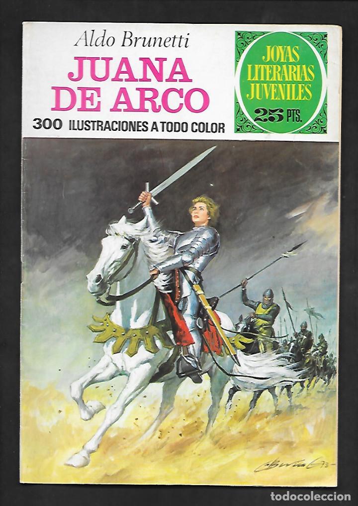 JOYAS LITERARIAS JUVENILES NUMERO 109 JUANA DE ARCO (Tebeos y Comics - Bruguera - Joyas Literarias)