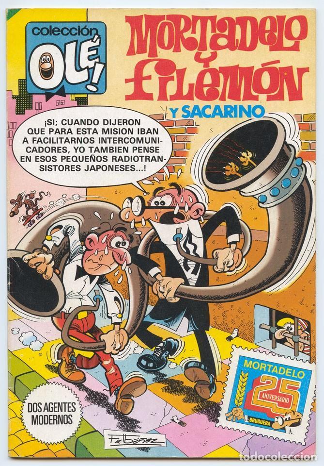 COLECCIÓN OLÉ! - MORTADELO Y FILEMÓN - ED. BRUGUERA - Nº 282 - 1ª EDICIÓN - 1983 (Tebeos y Comics - Bruguera - Ole)