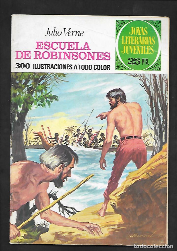 JOYAS LITERARIAS JUVENILES NUMERO 108 ESCUELA DE ROBINSONES (Tebeos y Comics - Bruguera - Joyas Literarias)