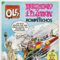 Tebeos: COLECCIÓN OLÉ! - MORTADELO Y FILEMÓN - ED. BRUGUERA - Nº 290 - 1ª EDICIÓN - 1984. Lote 185718238
