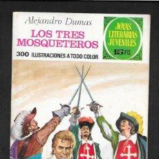 Tebeos: JOYAS LITERARIAS JUVENILES NUMERO 96 LOS TRES MOSQUETEROS. Lote 185752266