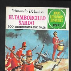Tebeos: JOYAS LITERARIAS JUVENILES NUMERO 94 EL TAMBORCILLO SARDO. Lote 185752705