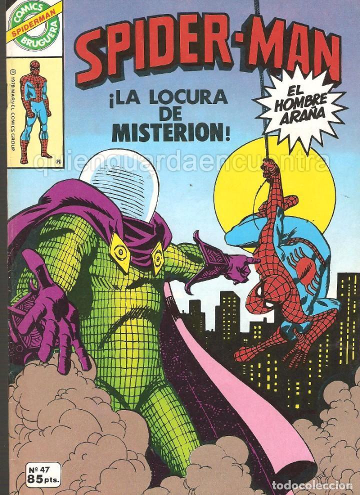 COMIC SPIDERMAN 47 SPIDER-MAN 1982 EL HOMBRE ARAÑA (Tebeos y Comics - Bruguera - Cuadernillos Varios)