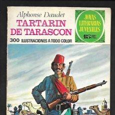 Tebeos: JOYAS LITERARIAS JUVENILES NUMERO 69 TARTARIN DE TARASCON. Lote 185880672
