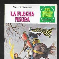 Tebeos: JOYAS LITERARIAS JUVENILES NUMERO 48 LA FLECHA NEGRA. Lote 185892548