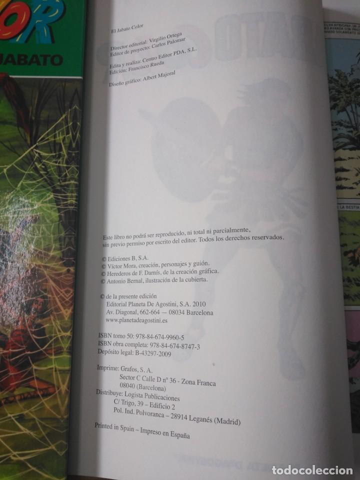 Tebeos: Colección El Jabato Editorial Planeta Edición 2010, 53 tomos - Foto 9 - 185953405