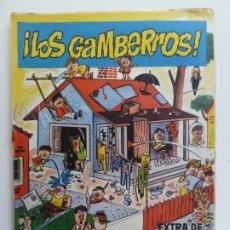 Giornalini: EXTRA DE EL DDT. LOS GAMBERROS.. Lote 185959591
