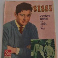 Tebeos: SISSI Nº 244 - DICIEMBRE 1962 - REVISTA JUVENIL FEMENINA - EDITORIAL BRUGUERA - VICENTE PARRA. Lote 185965548